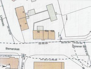 Bitterfed-Bismarckstraße-Lageskizze