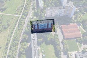 Halle-Lise-Meitner-Straße-Schrägbild