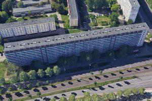 Halle-Neustadt - An der Magistrale