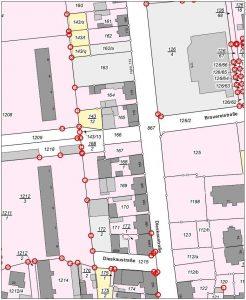 Leipzig - Karl-Heft-Straße - Lageplan