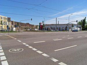 Merseburger Straße in Halle (4)
