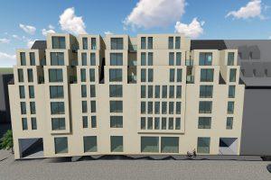 Ansichten Neubauprojekt Brüderstraße