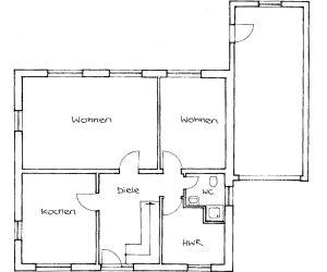 Beispiel Bebauung mit Einfamilienhäusern 2