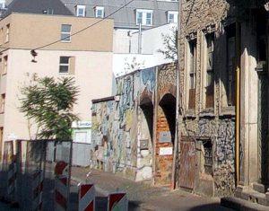 Ansicht Brüderstraße mit Bestandsgebäude