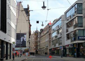 Bestandsobjekt Grosse Steinstrasse 81 - markiert