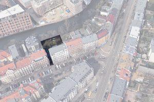 Holbeinstraße - Schrägbild