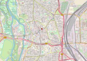 Große Steinstraße + Brüderstraße - Lage