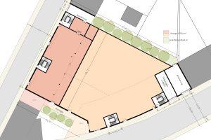 Schönefeld - Wohn- und Geschäftshausprojekt - Mustergrundriss 1