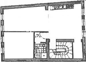 Skizze Obergeschoss 3